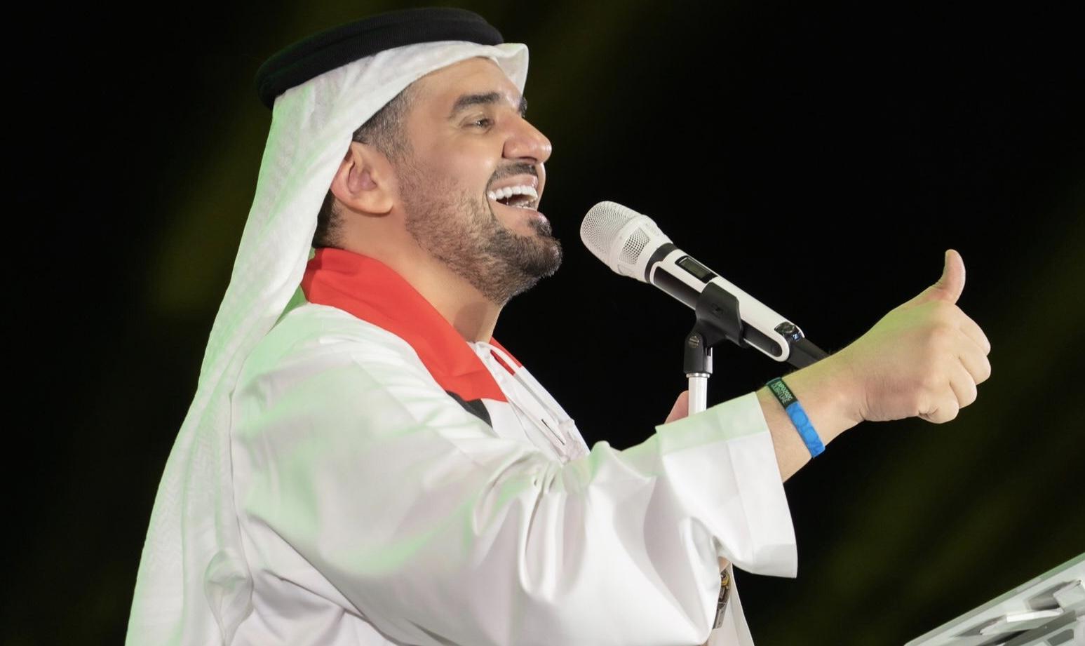 بالصور – حسين الجسمي احتفل باليوم الوطني 48 وما تعليقه؟