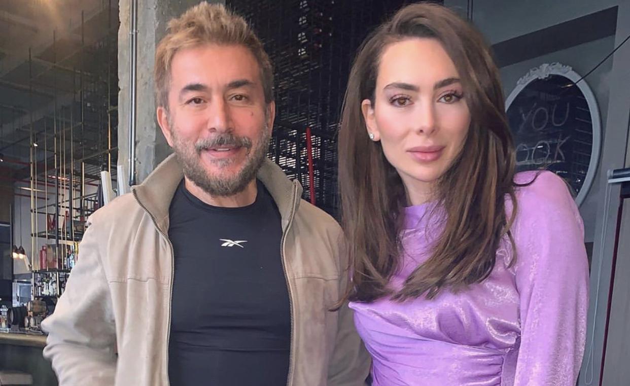 بالصور والفيديو – هكذا عايدت ستيفاني صليبا شريكها عابد فهد بعيده